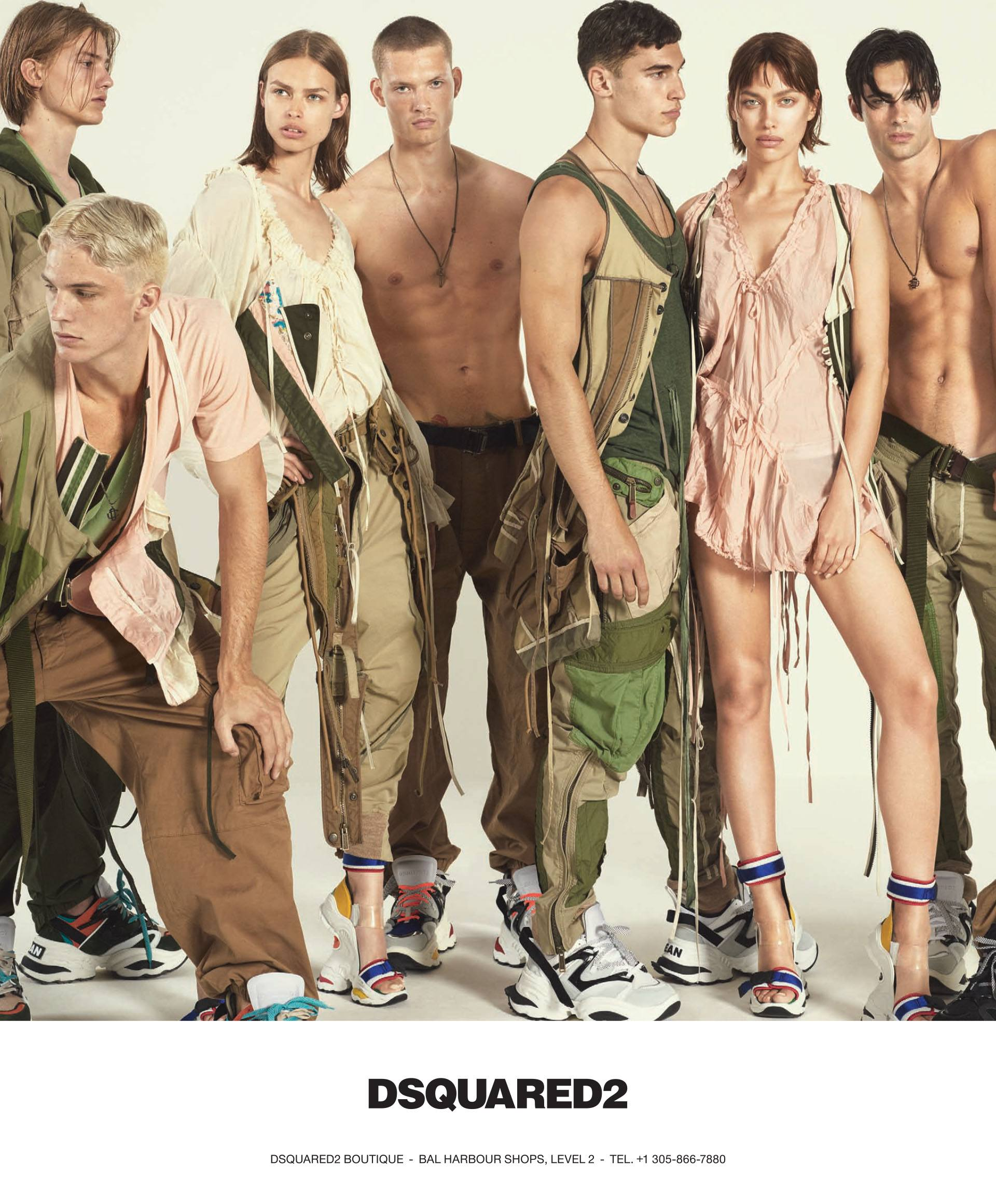 DSquared2 Spring 2018 collection Logo