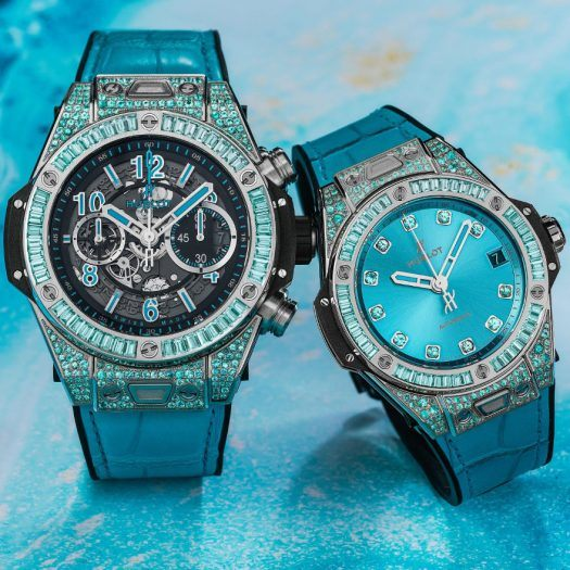 Hublot's limited edition big bag paraiba