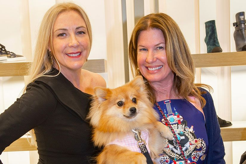 Angela Birdman and Dana Shear inside Neiman Marcus Bal Harbour