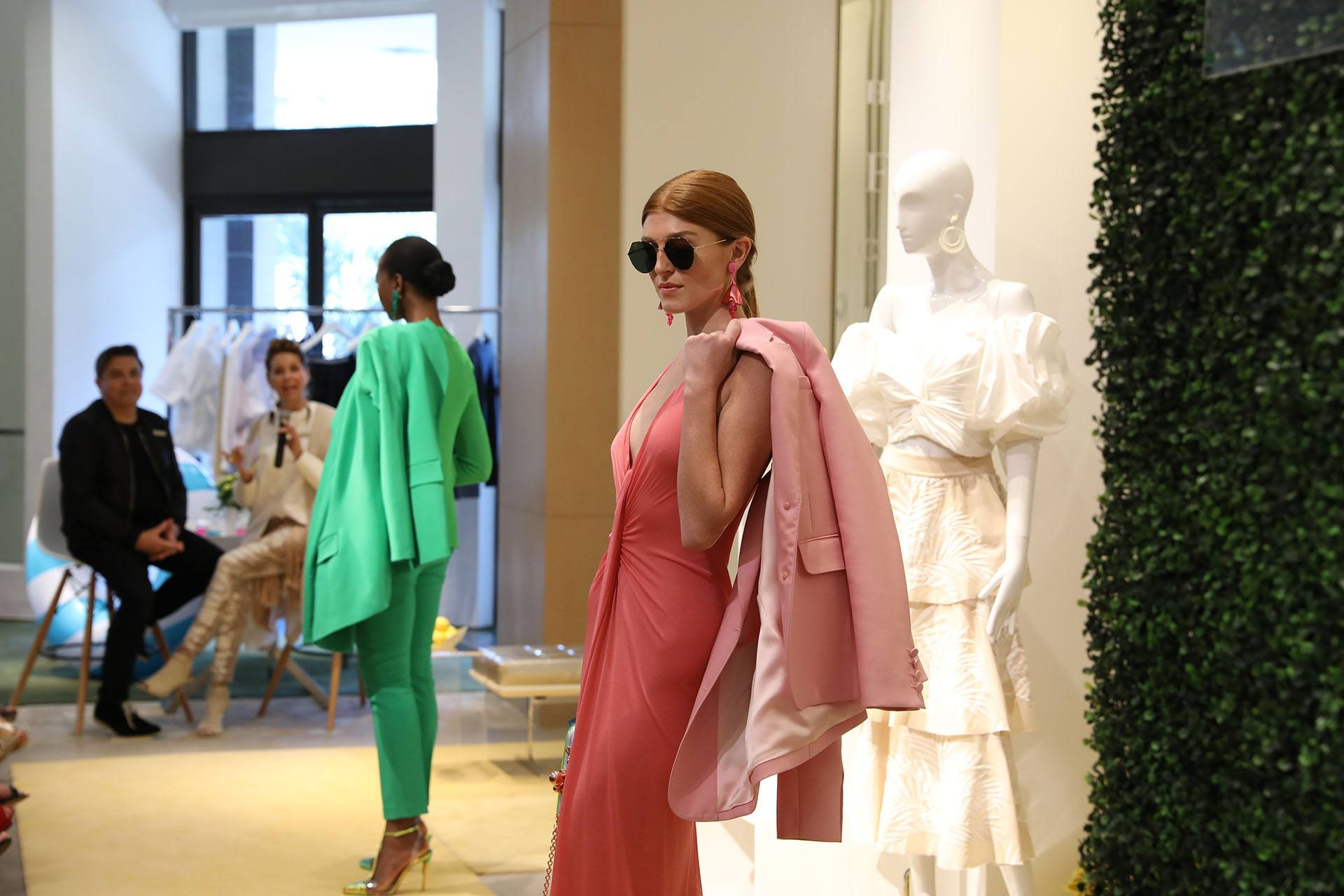 Models in the latest Spring 2019 collection from Neiman Marcus Bal Harbour