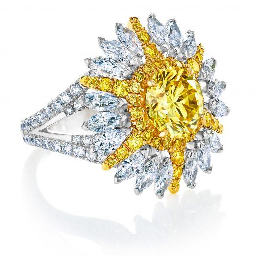 Yellow De Beers Jewellers Diamond Legend Ring