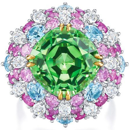 A ring from Harry Winston's Candy Collection