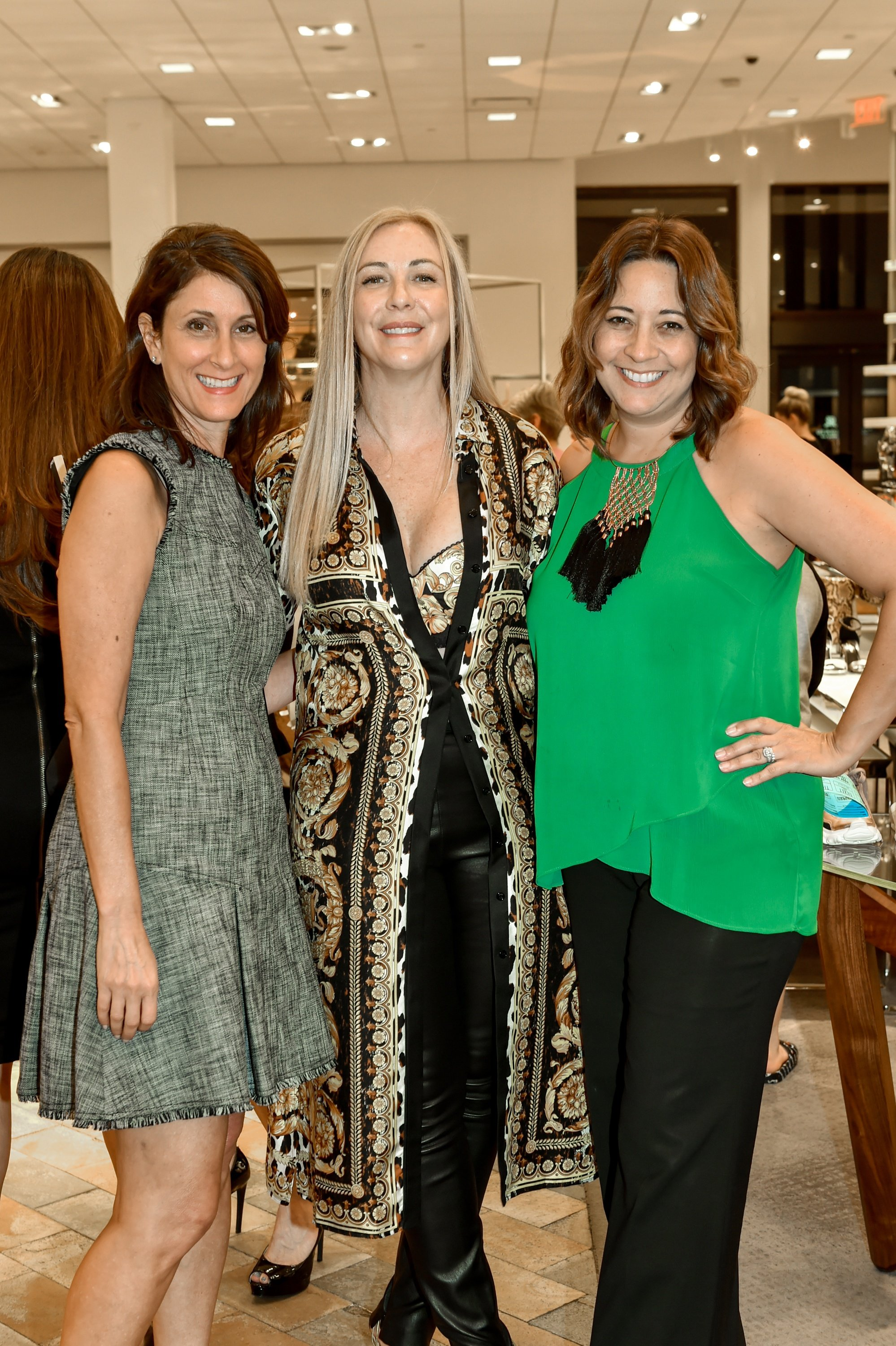 Julie Burnstein, Angela Birdman and Natalia Echeverria-Sol