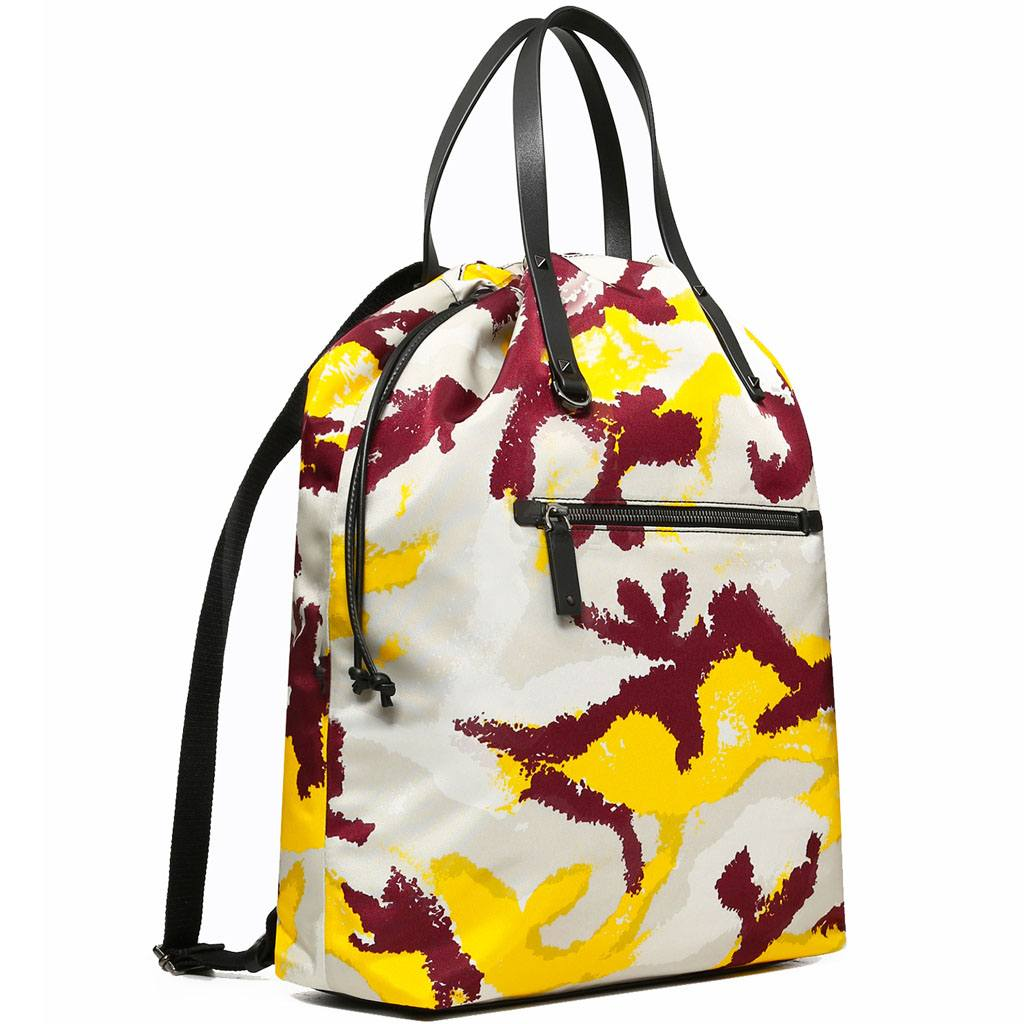 Valentino Camouart Backpack for men