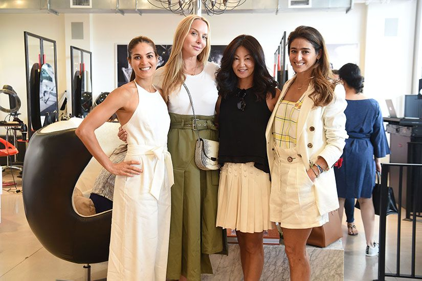 Wine, Women and Shoes Event at Red Market Salon & Le Zoo