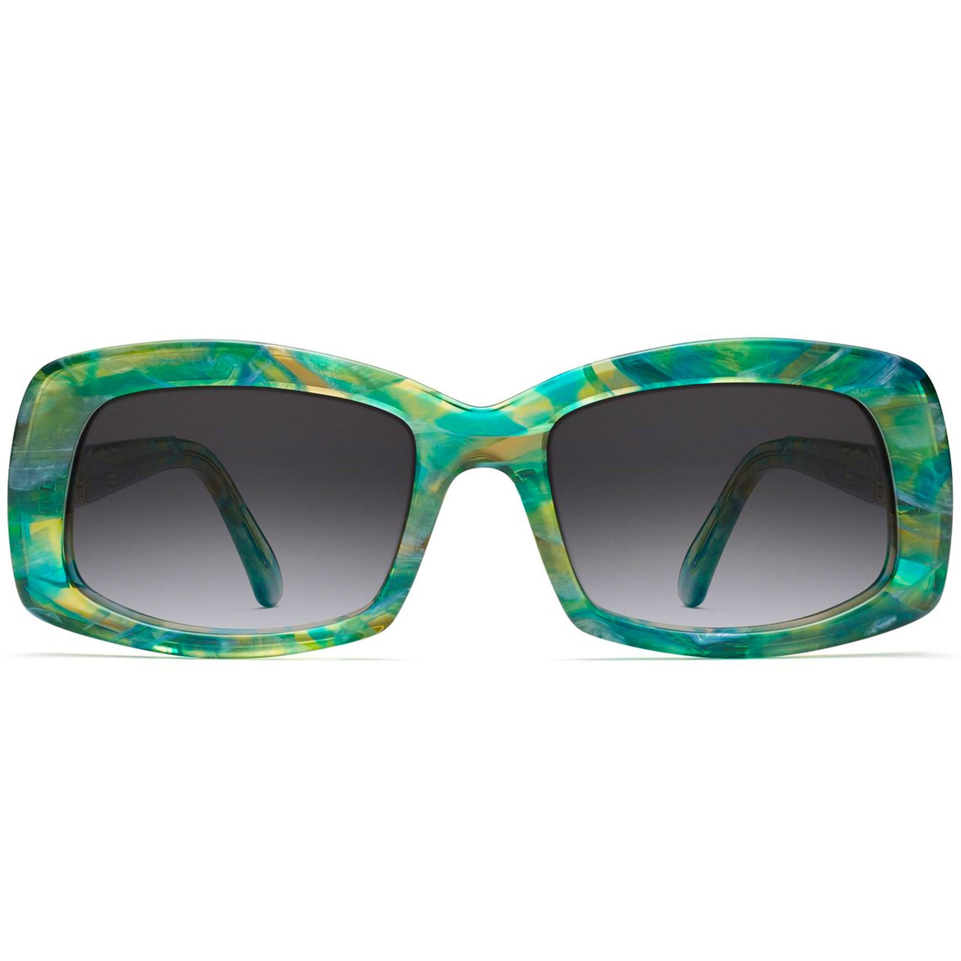 Carmen Sunglasses in acetate Teal from the Classic Series by Morgenthal Frederics