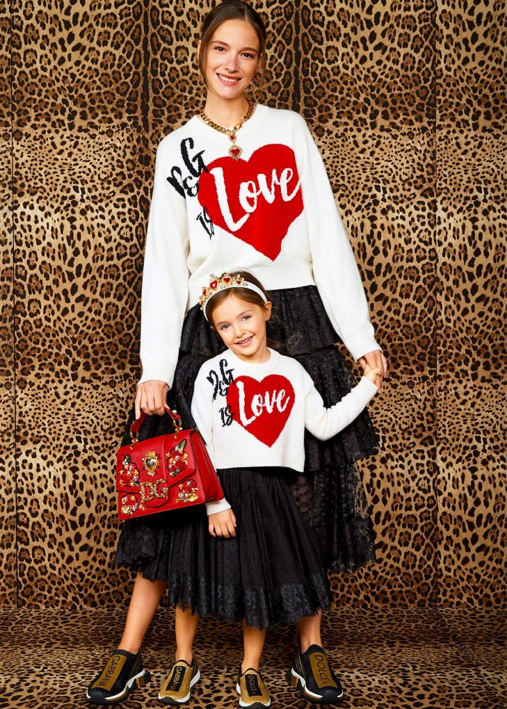 Dolce & Gabbana 'Mini Me' collection for mothers & daughters