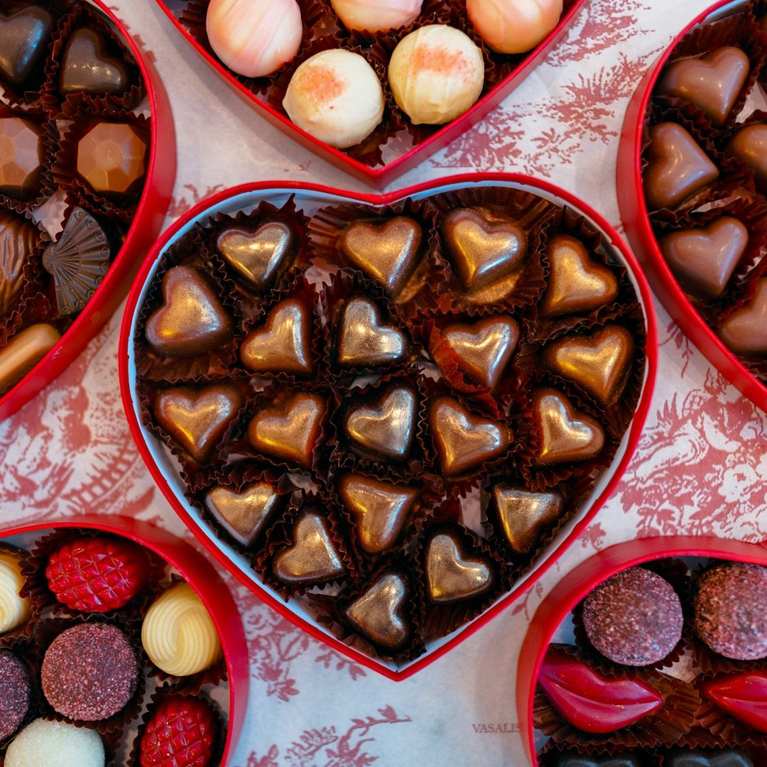 Vasalissa Chocolatier gift boxes exclusively made for Mother's Day
