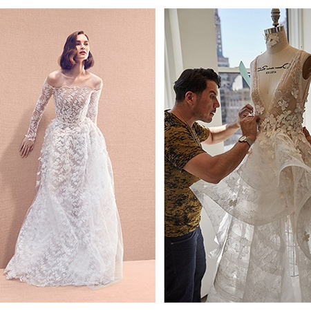Behind the scenes at the Oscar de la Renta Bridal Atelier