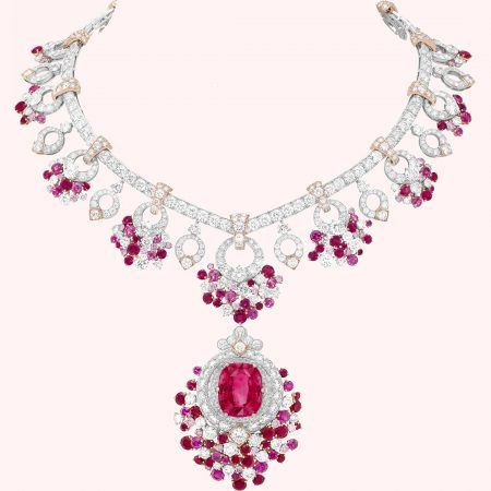 Van Cleef & Arpels Treasure of Rubies Jardin de Rubis Necklace