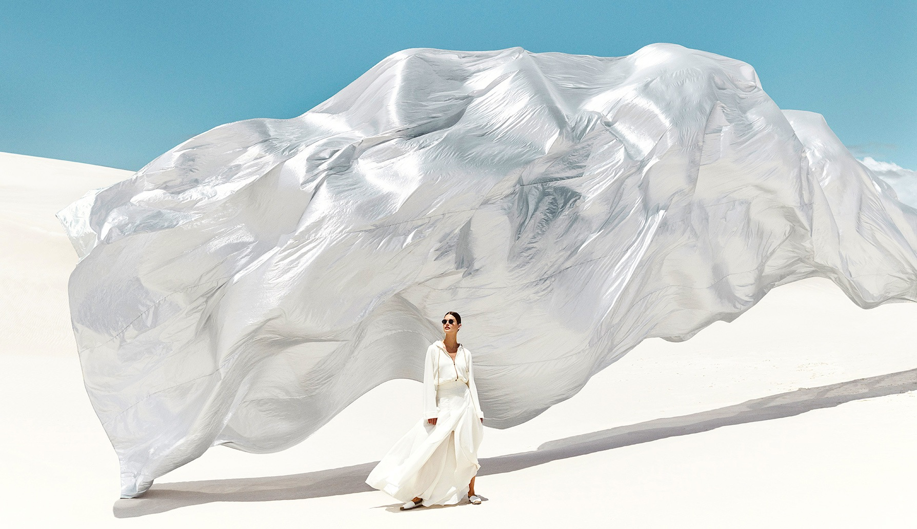 Brunello Cucinelli Wanderlust Dreams campaign. Looks available at the newly opened Bal Harbour boutique on Level 1.