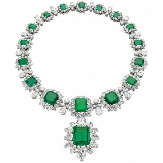 Bulgari High Jewelry Emerald Necklace from the Heritage Collection