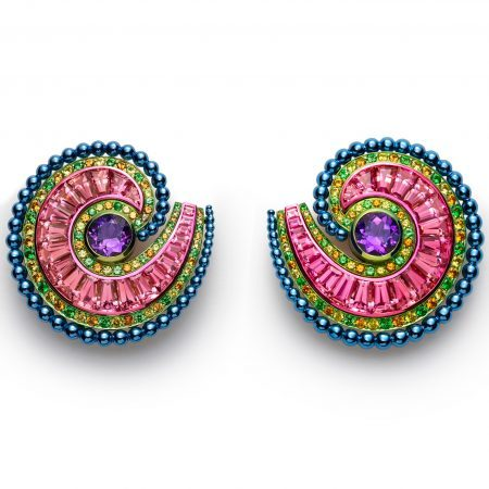 Chopard Red Carpet 2019 High Jewelry Multicolor Earrings