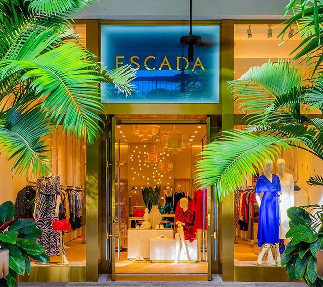1st ESCADA Concept Store in the U.S. at Bal Harbour Shops