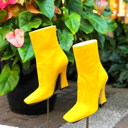 Fendi FFreedom Yellow Booties