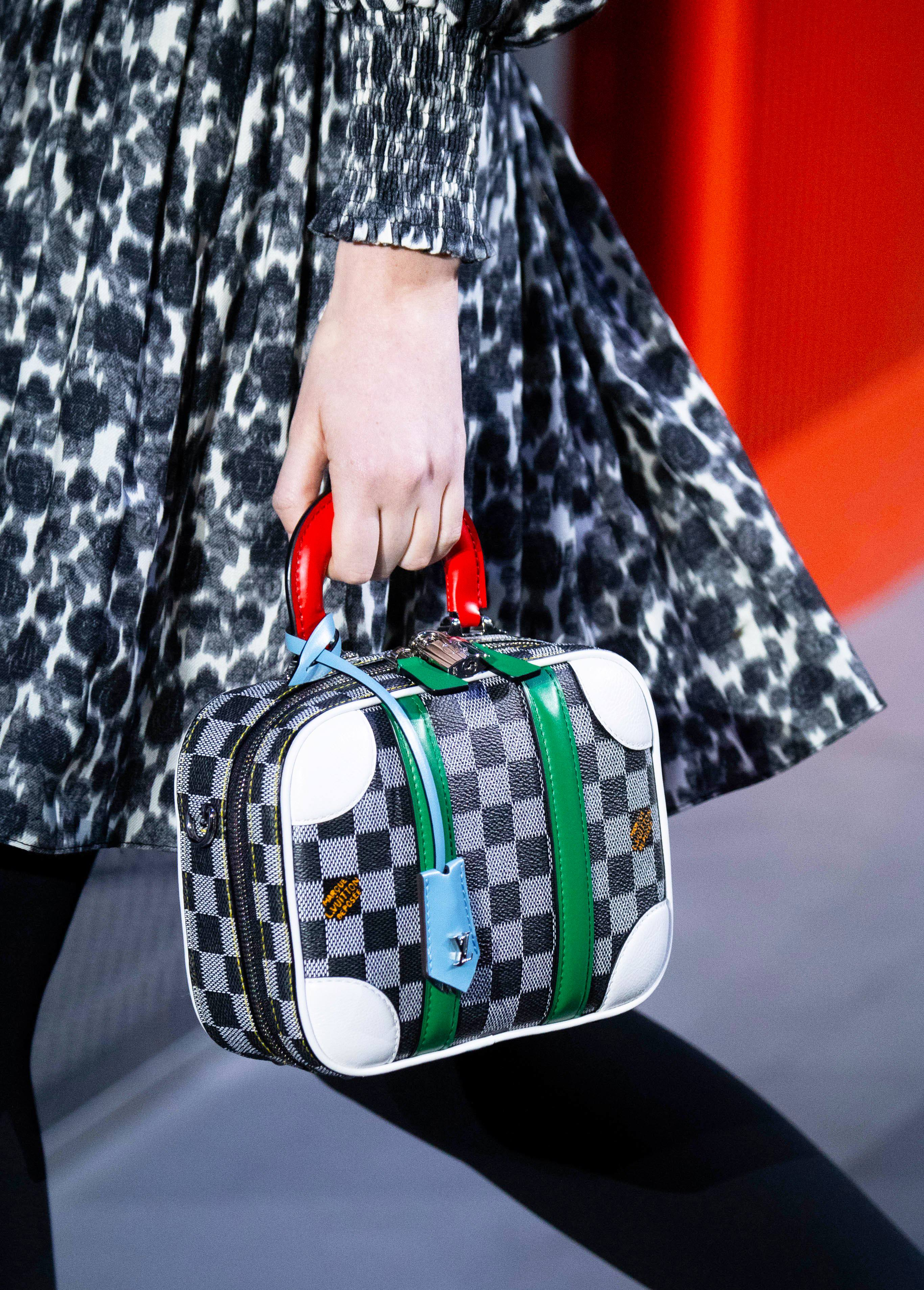Louis Vuitton Mini Luggage BB handbag from the Fall 2019 Runway Collection