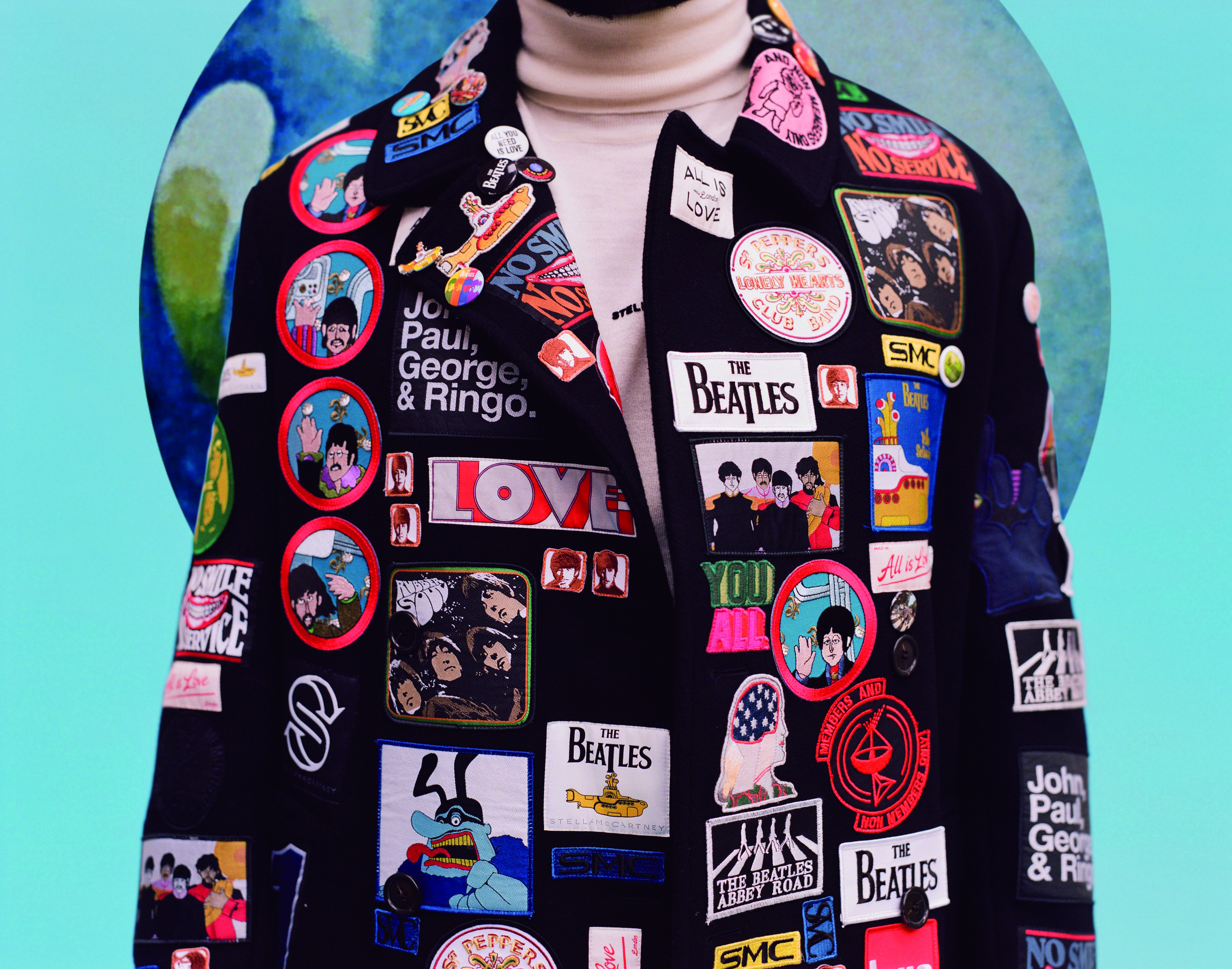 Arthur 'All Together Now' coat.