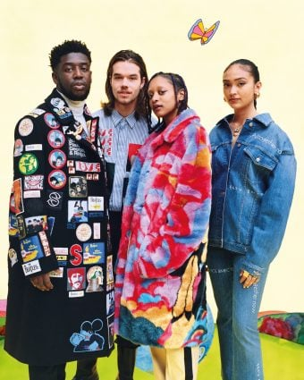 Enlisting the help of four up-and-coming young musical talents, Stella launches the new 'All Together Now' collection, inspired by The Beatles' film 'Yellow Submarine'.