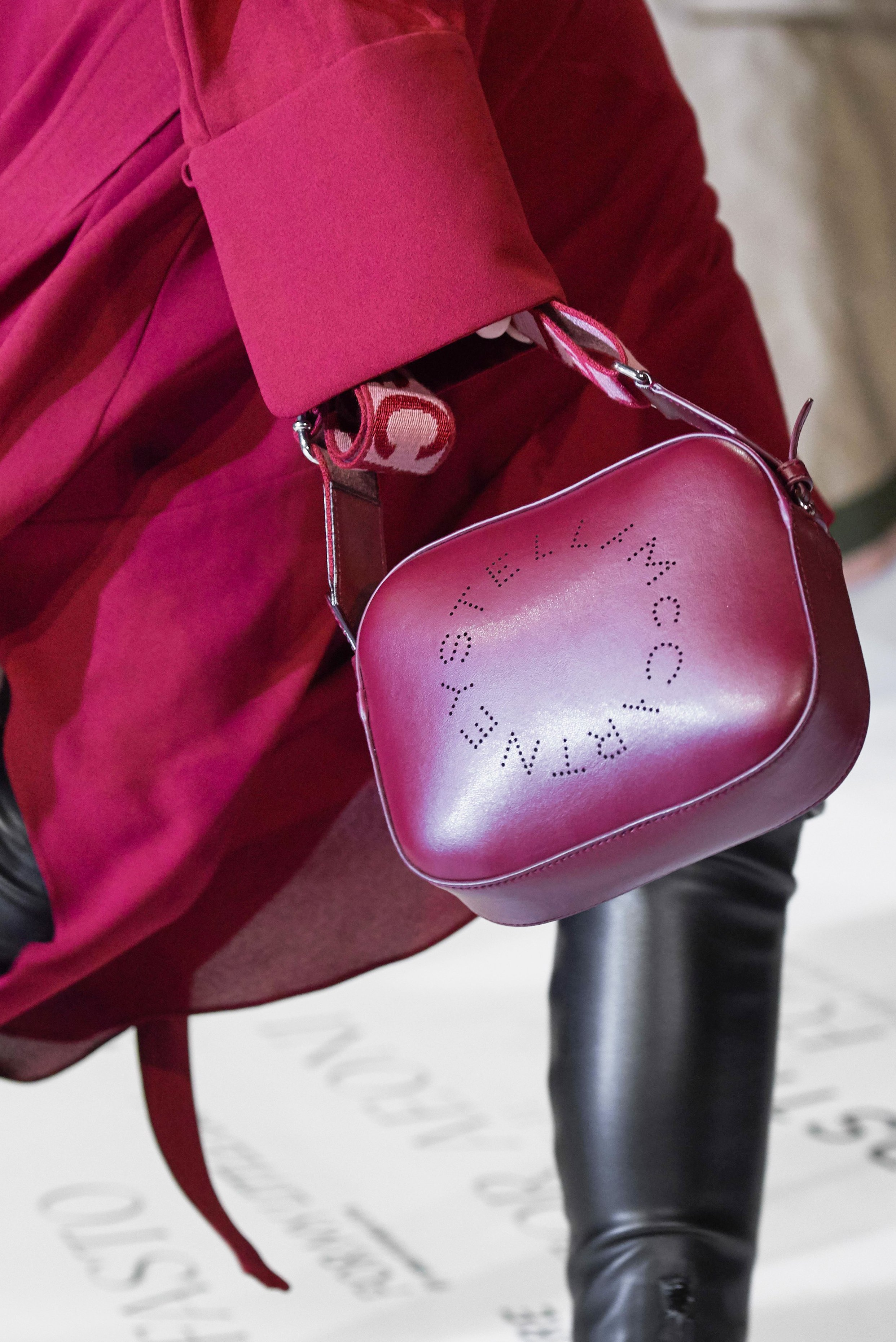 Stella McCartney Logo Mini bag from the Fall 2019 Runway Bag Collection