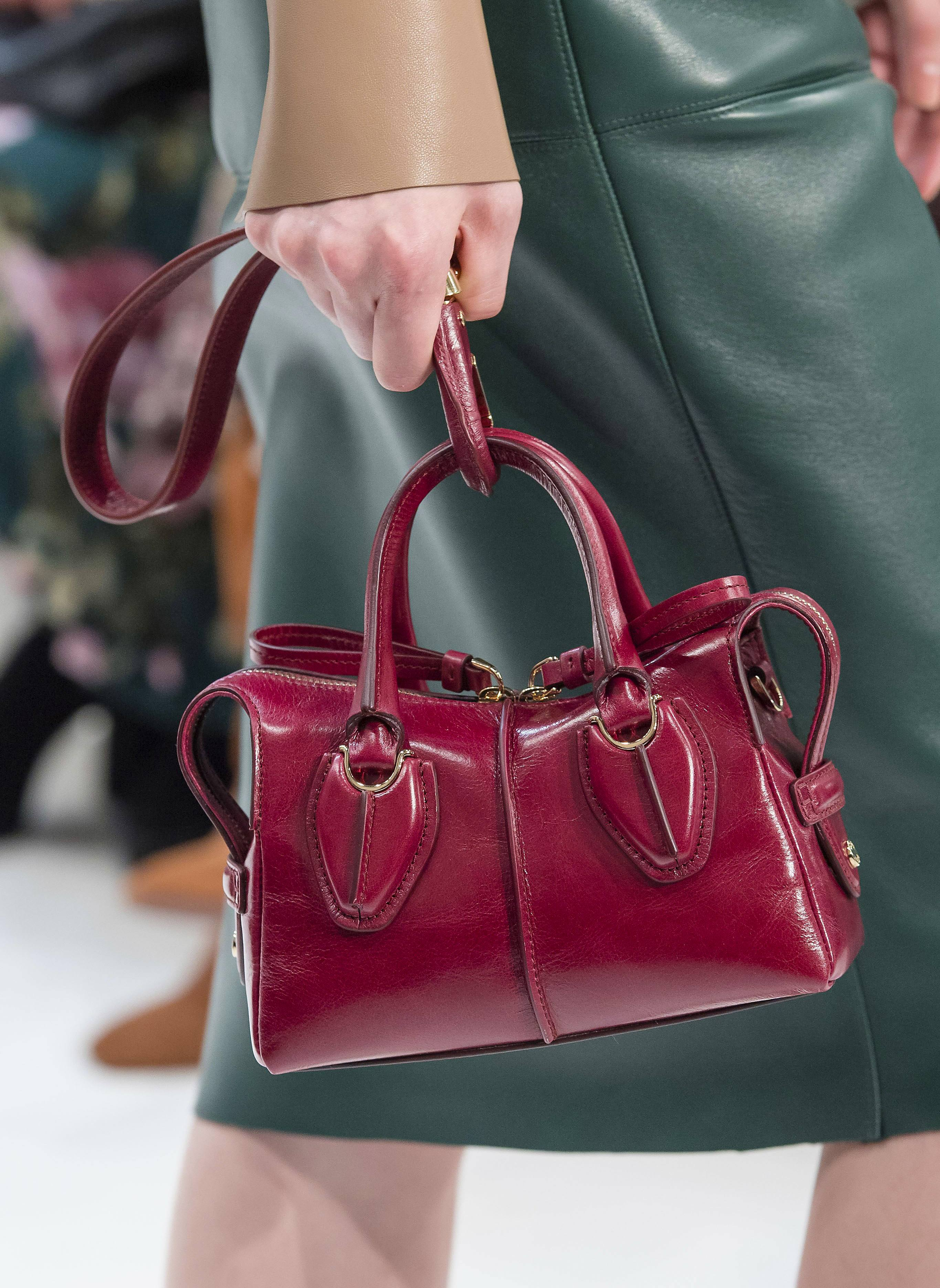 Tod's D-Styling small handbag from the Fall 2019 Runway Bag Collection
