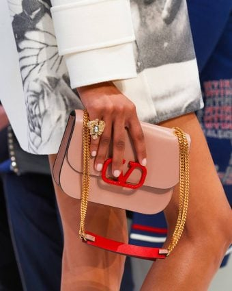Valentino VSLING shoulder bag from the Fall 2019 Runway Collection