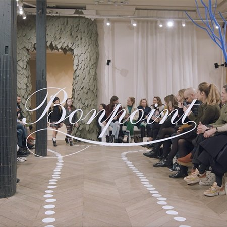 Bonpoint Winter 2019 Fashion Show-450