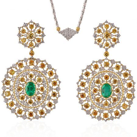 Buccellati Rugiada Pendant Earrings
