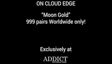 On Cloud Edge Moon Gold Limited Edition Sneaker at Addict Bal Harbour-1092