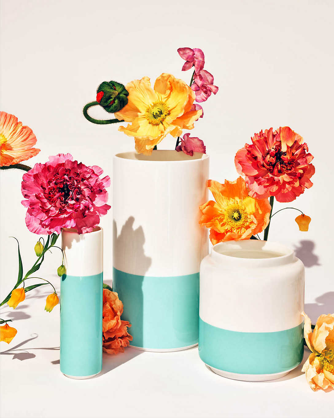 Tiffany & Co. Color Block Vases