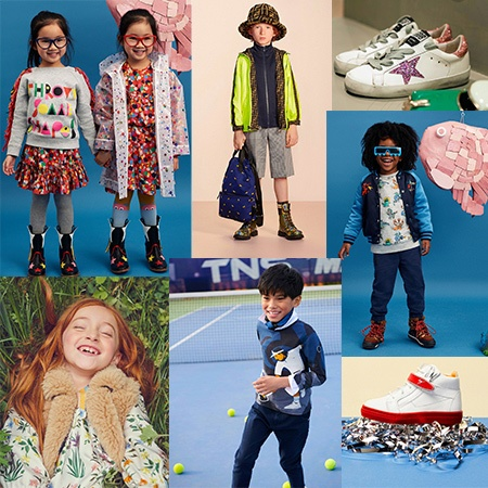 Back-to-school must have looks and accessories featuring Bal Harbour brands Couture Kids, Monnalisa, Stella McCartney, Young Versace, Dolce & Gabbana, Golden Goose, Giuseppe Zanotti Junior and more.