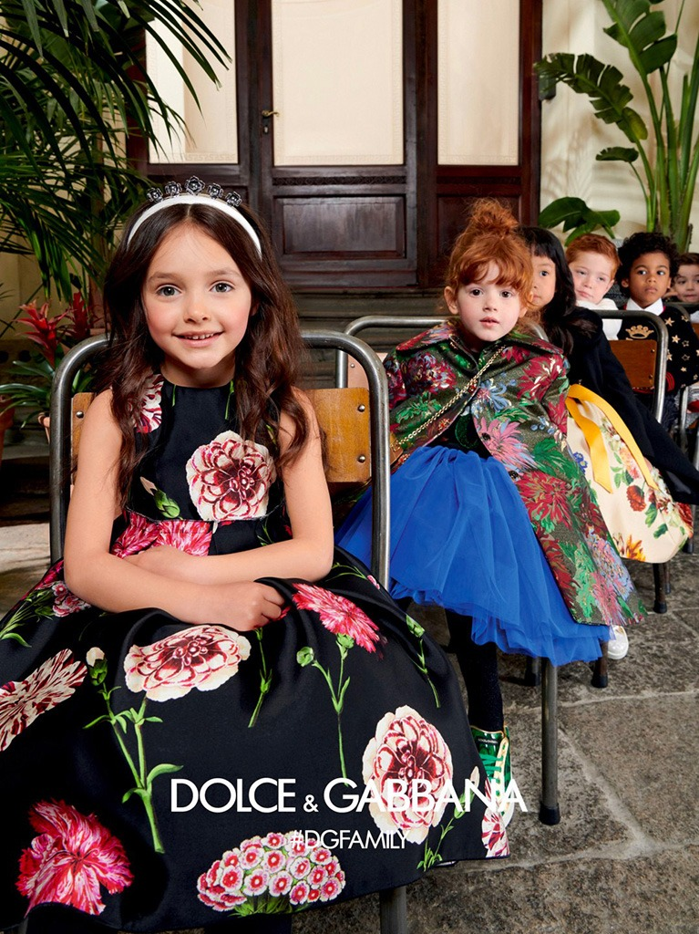 Dolce & Gabbana Winter 2019-2020 Children Collection