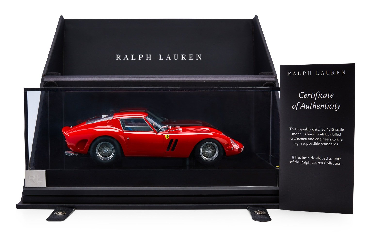 Ralph Lauren Home Ferrari 250 GTO Authentic Model