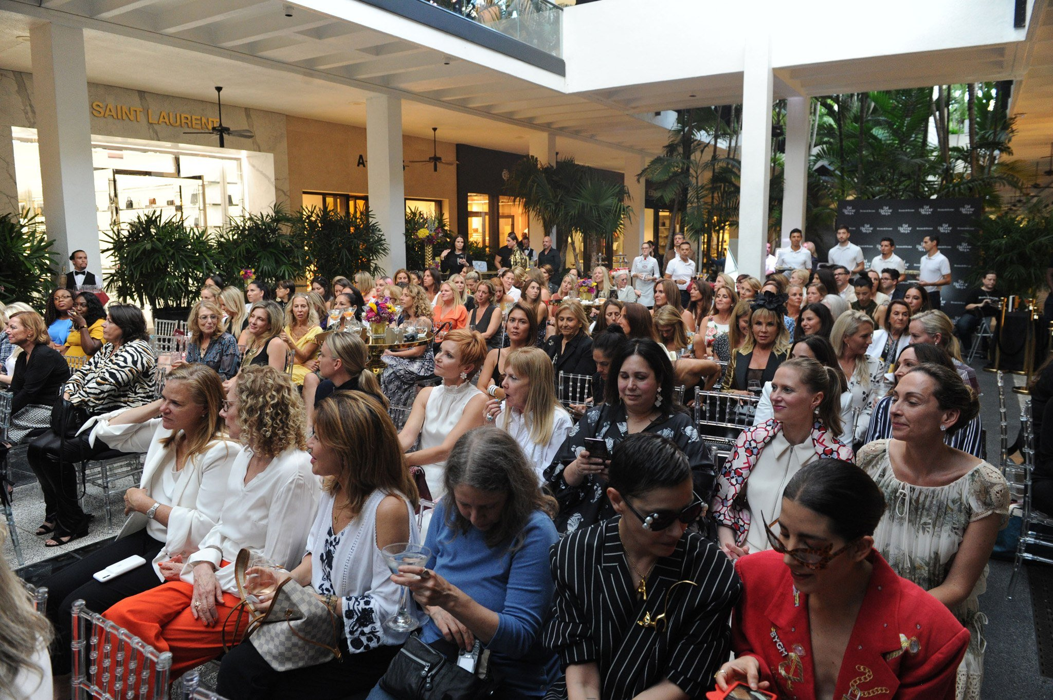 Candace Bushnell Cocktail at Bal Harbour Shops