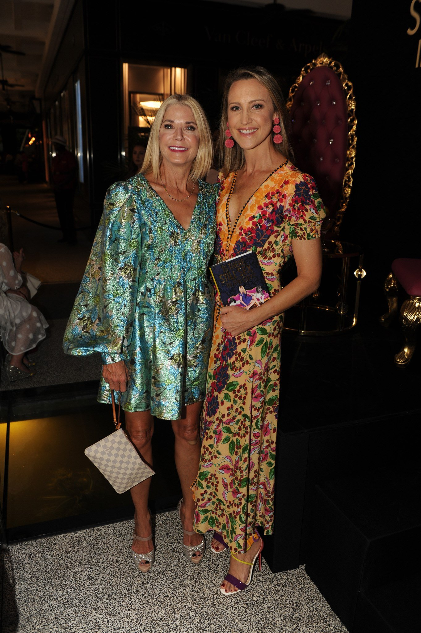 Candace Bushnell and Kinga Lampert