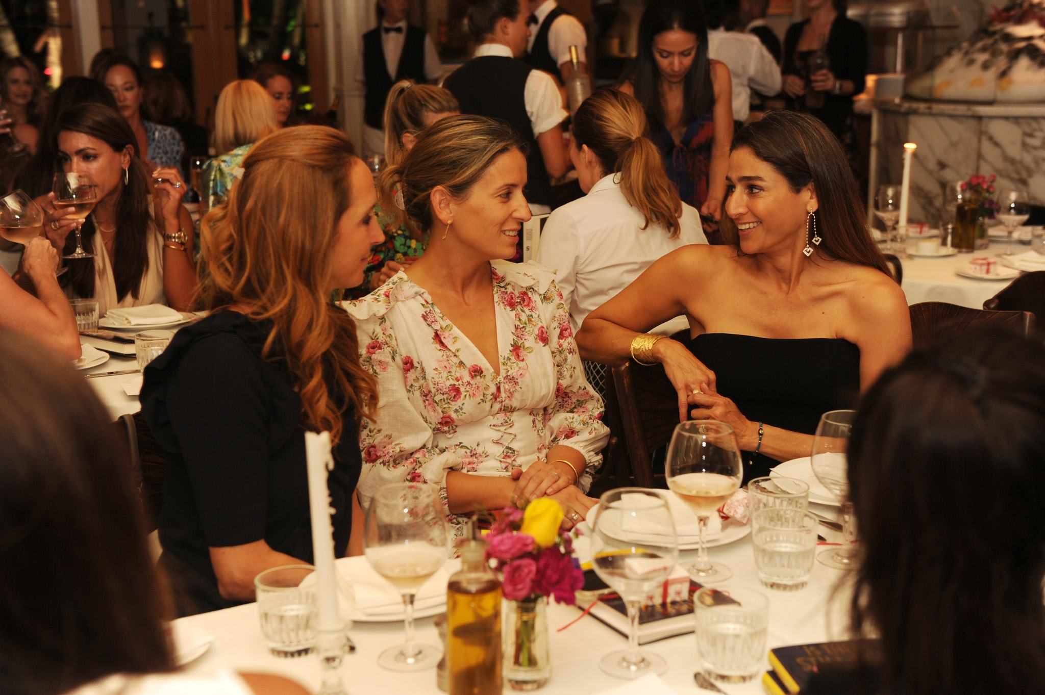 Le Zoo Bal Harbour hosts Candace Bushnell and Guests for a private dinner