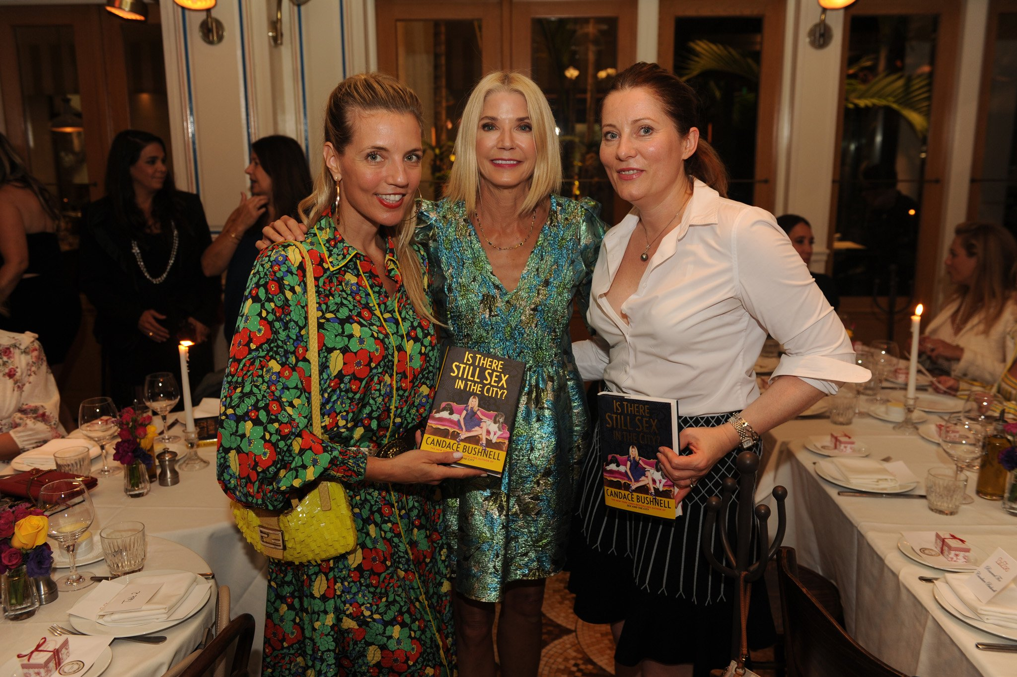 Dana Rhoden, Candace Bushnell and Inga Miller