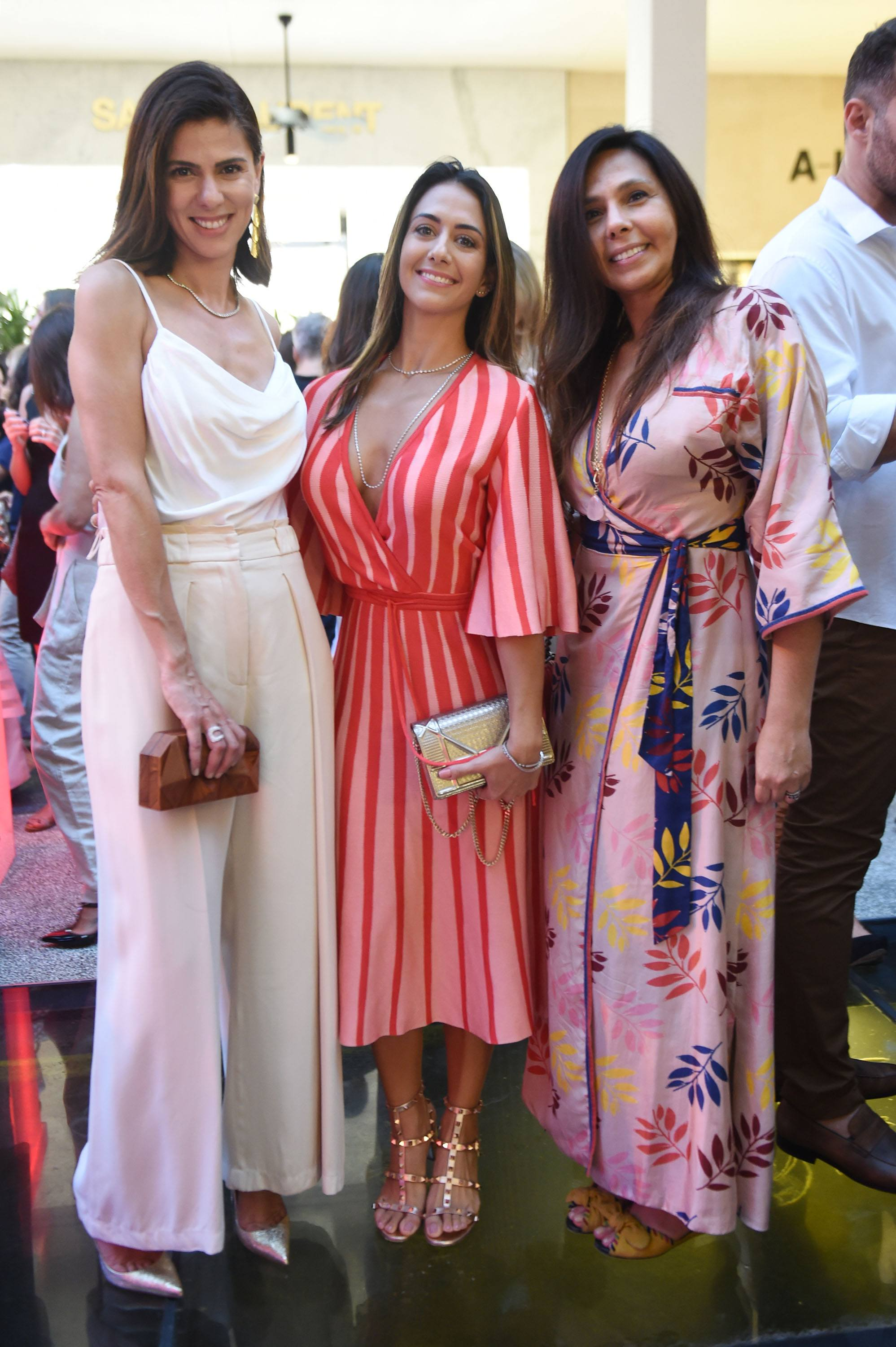 Janice Grunwald, Julia Primo and Renata Guarita