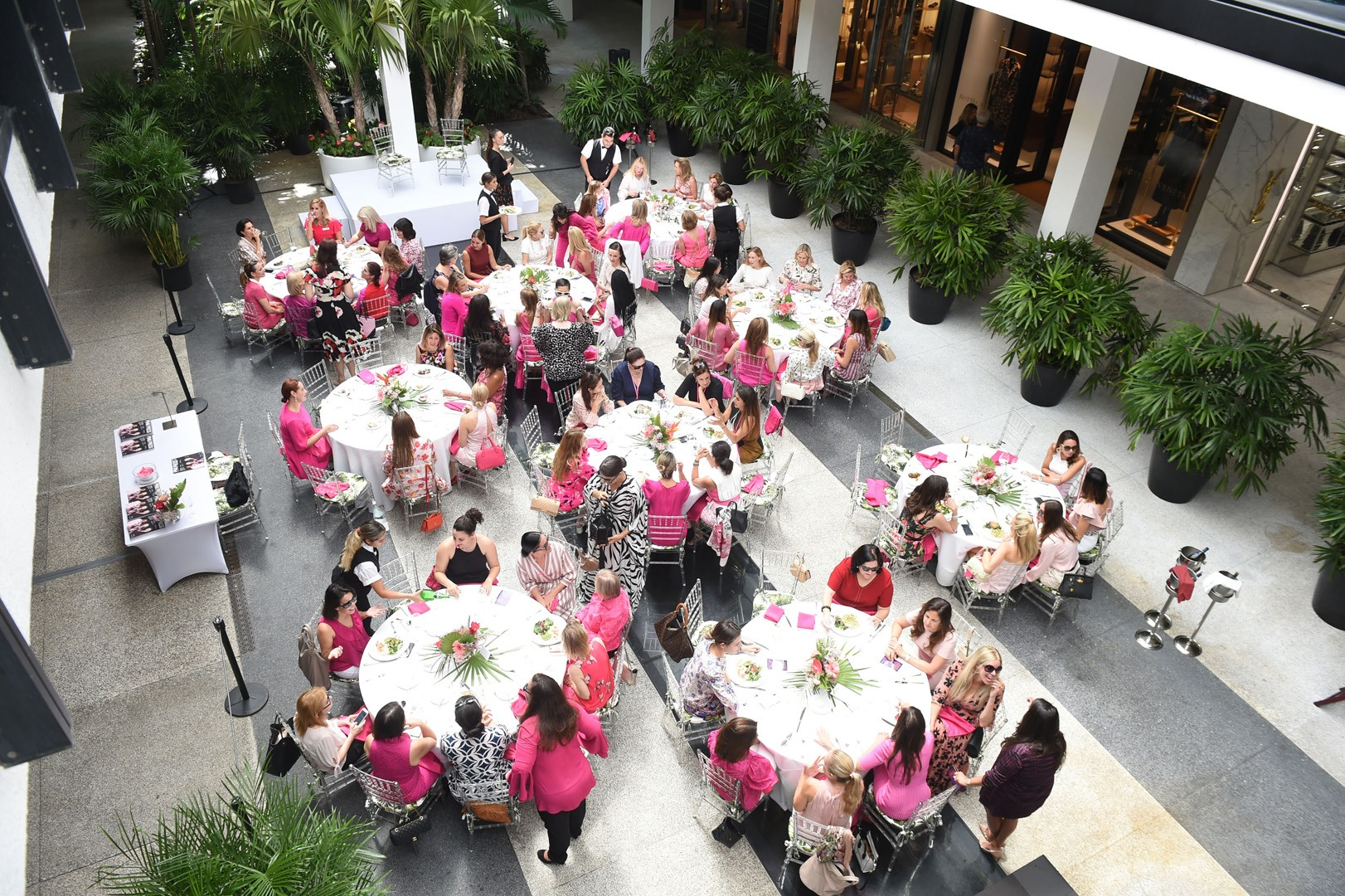 Inaugural Miami Hot Pink Luncheon Honoring the Breast Cancer Research Foundation.