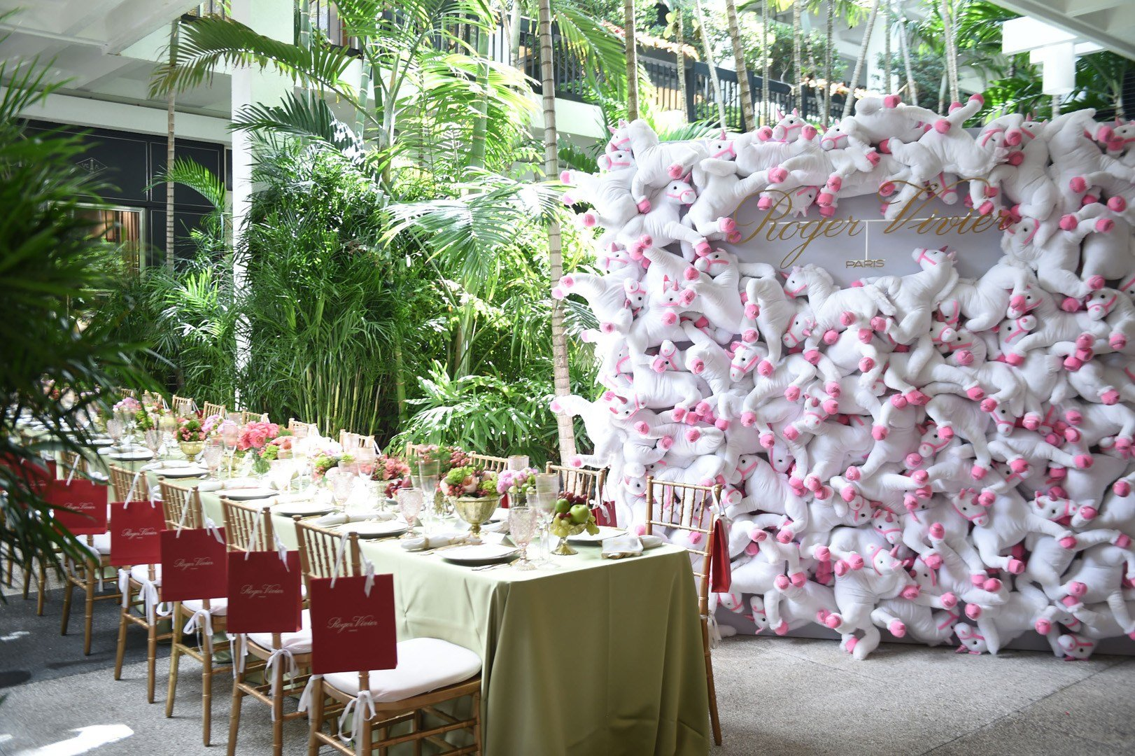 Roger vivier celebrates 10 Years at Bal Harbour Shops with a ladies luncheon alongside the launch of the Fall issue of Bal Harbour Magazine