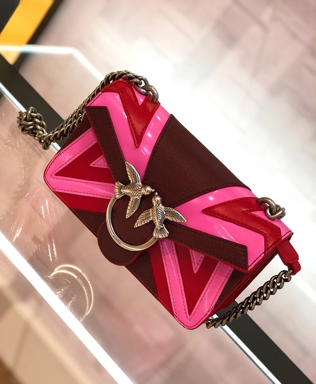 PINKO Love Bag in Pink