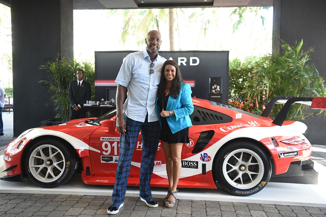 Alonzo Mourning and Stephanie Sayfie Aagaard