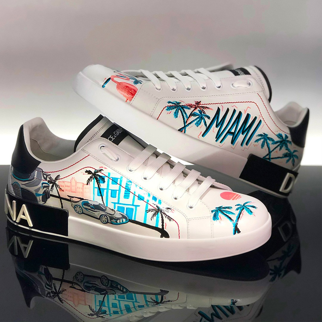Dolce & Gabbana one-of-a-kind Portofino sneaker