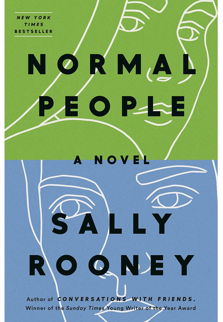The New York Times Best Seller, Normal People written by Sally Rooney.