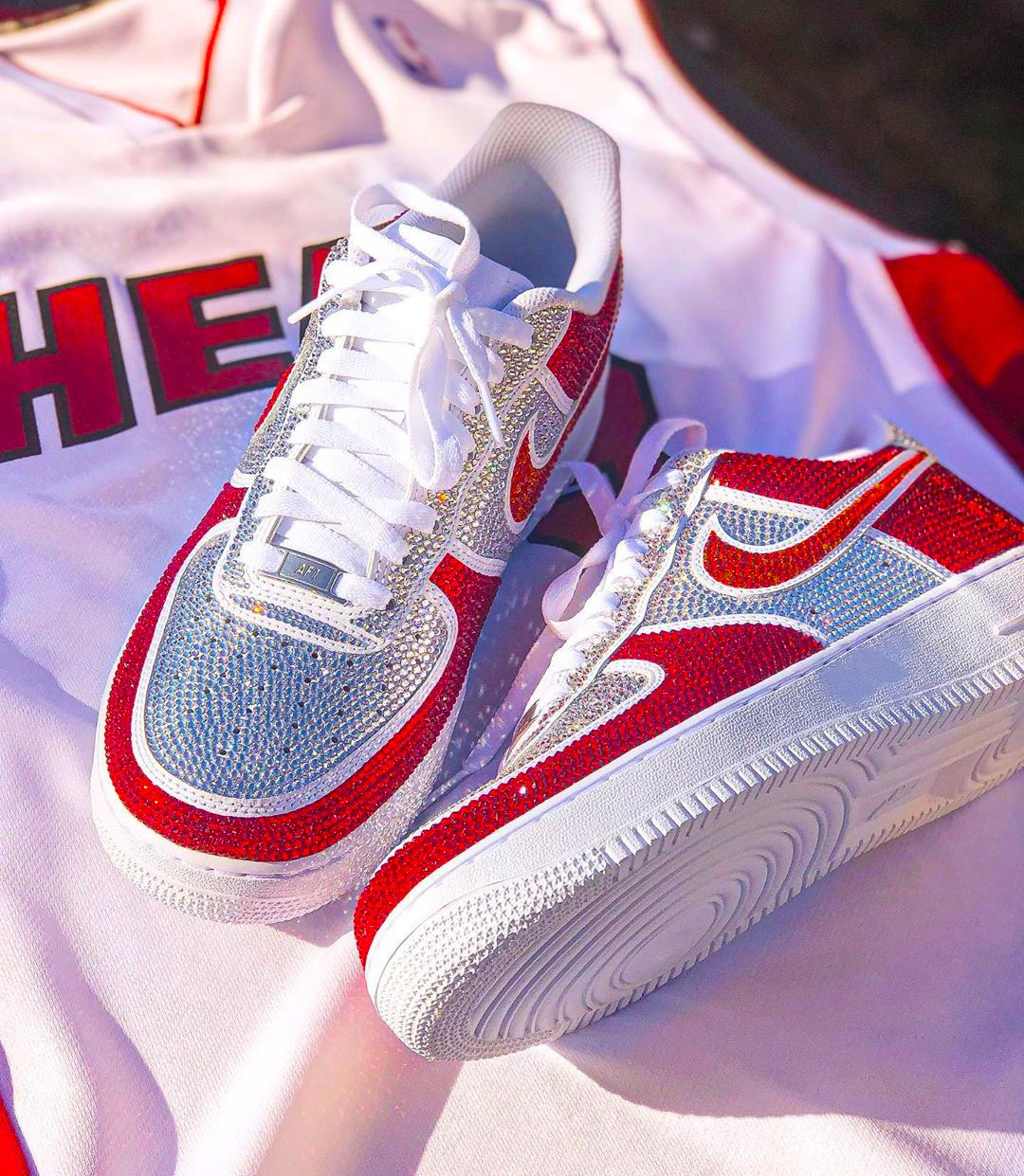 One-of-a-kind Nike Air Force 1s from Addict Bal Harbour