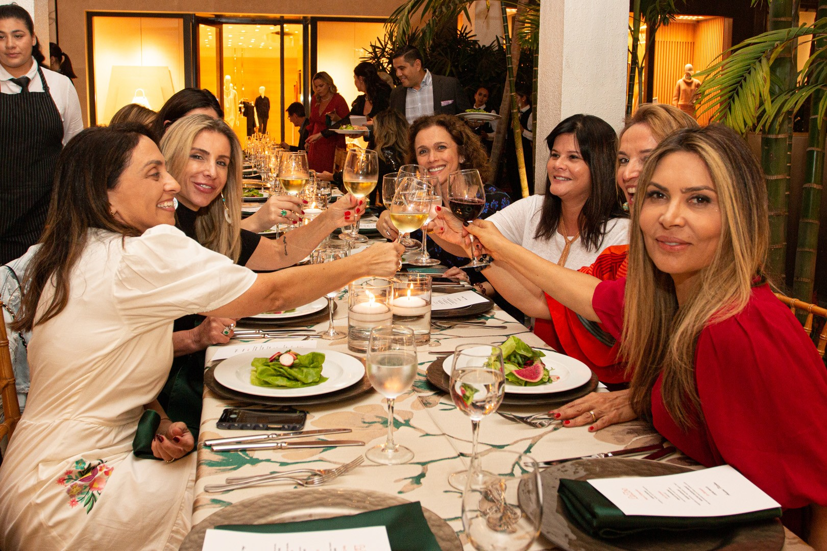 Vogue Brazil and Bal Harbour Magazine Dinner