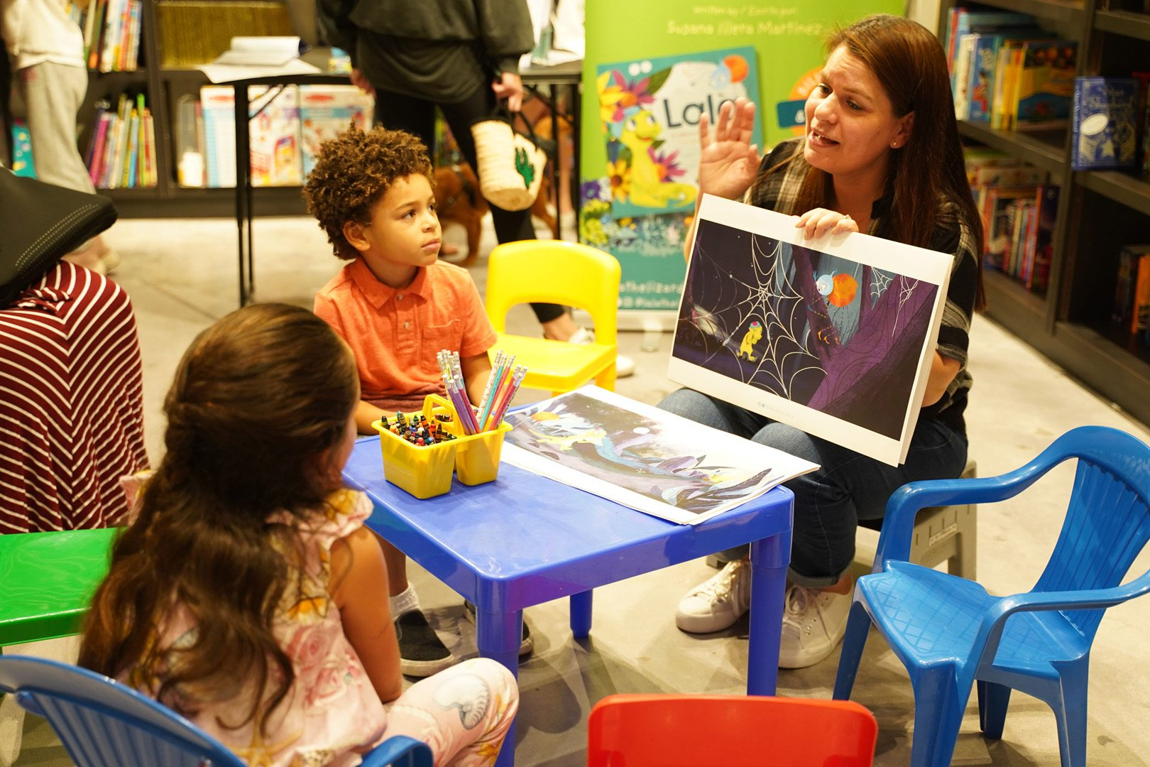 Lala the Lizard story-time at Books & Books Bal Harbour for ICE CREAM WE LOVE 2020