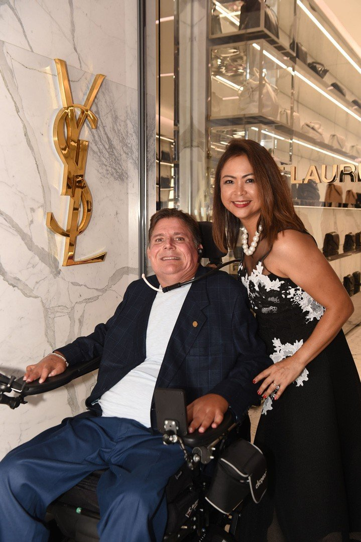 Marc Buoniconti and Cynthia Buoniconti