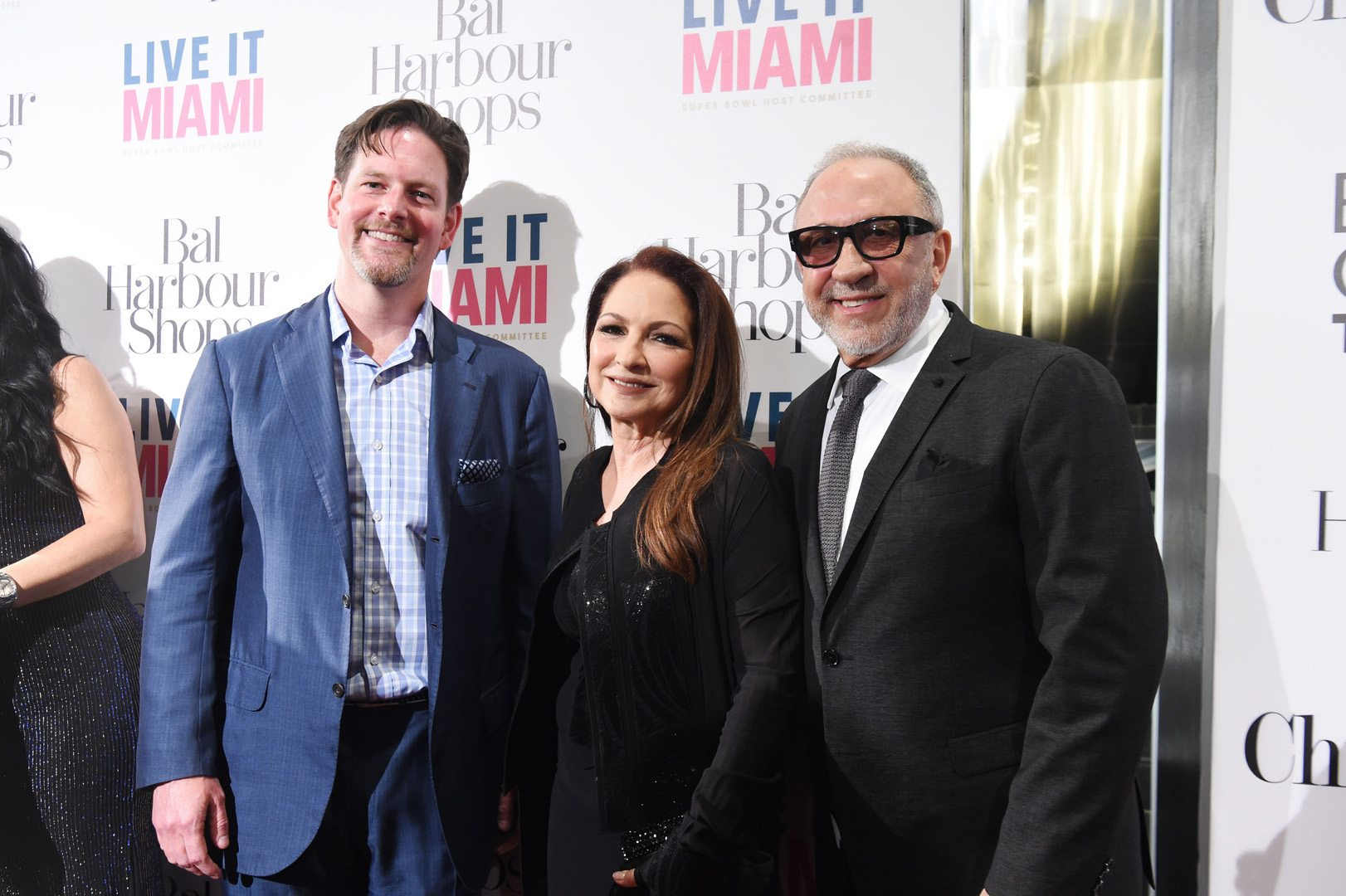 Matthew Whitman Lazenby, Gloria Estefan and Emilio Estefan