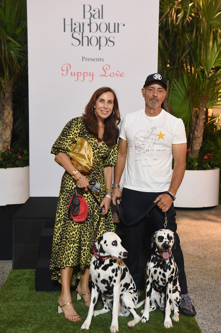 Laurie & Herb Milgrim and their 2 Dalmatians