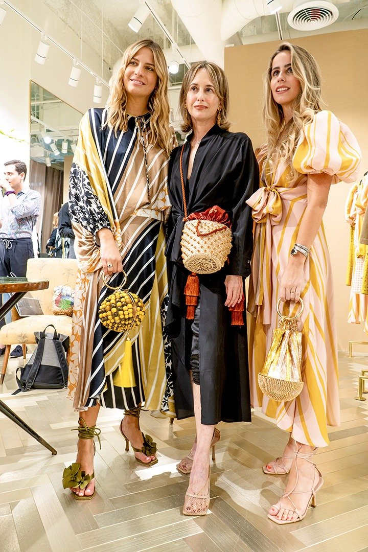 Designer Silvia Tcherassi and guests celebrated the opening of her Bal Harbour pop-up on Level 2 of the Shops